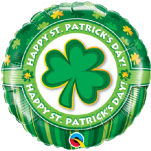 "Happy St Patricks Day Foil Balloon (18"") 1pc"